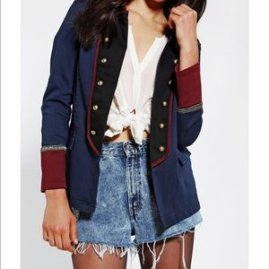 Ecote Urban Outfitters Ex-Officer Military Jacket